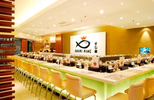 sushi king 500x326 - Satu Petang Di SushiKing