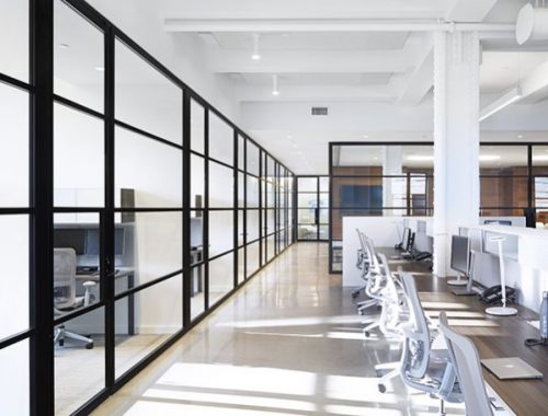 pk30 dark framed glass walls e1489464104305 500x380 - Reasons To Purchase Glass Partitions