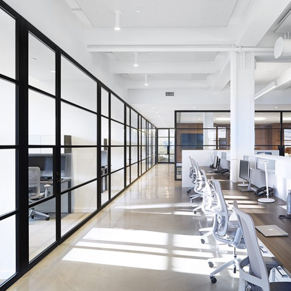 pk30 dark framed glass walls e1489464104305 - Reasons To Purchase Glass Partitions